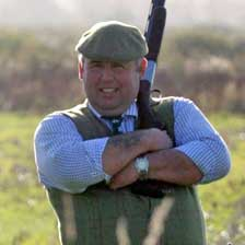 David is a gamekeeper