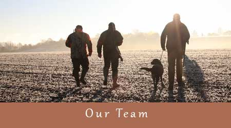 our team have 30 years' experience and offer shooting guidance as required